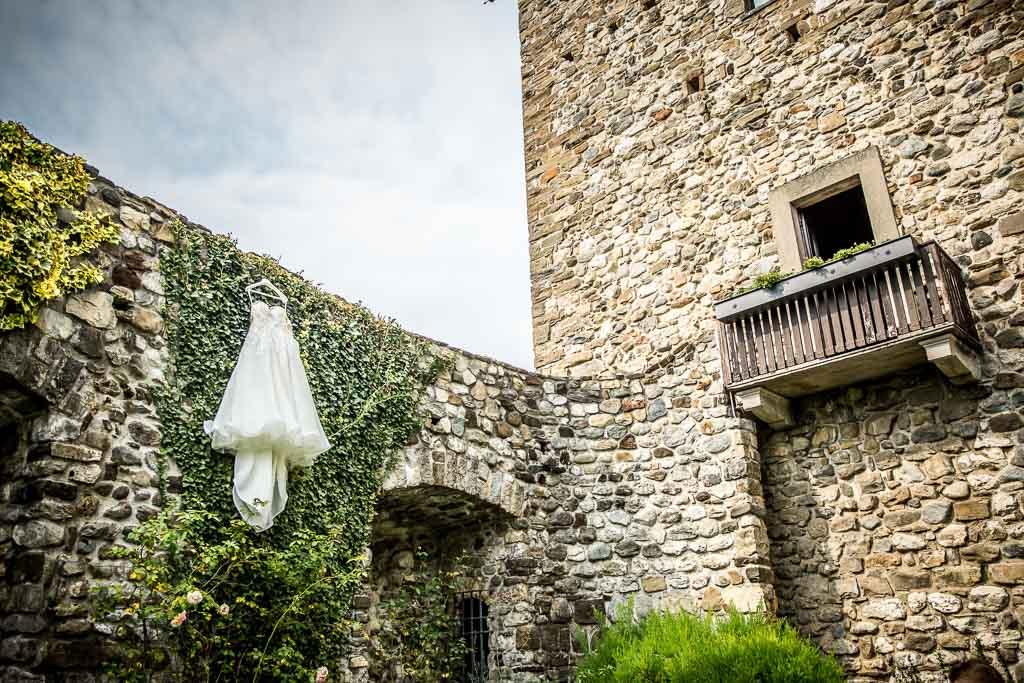 Matrimonio Castello di Rossino di Lecco Claudia e Jacopo